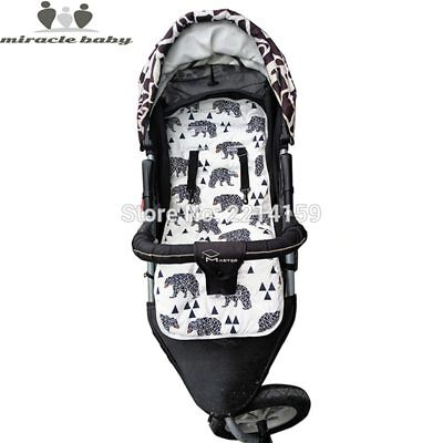 2018 Fashion Baby Diaper Pad New Cheap Baby Stroller Cushion Cotton Stroller