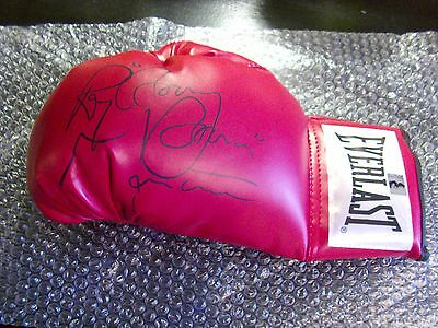 """Ray """" Boom Boom """" Mancini autographed Boxing Glove Autograph w Hologram"""