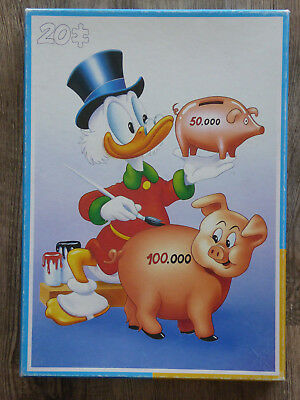 Dagobert Duck 20 Teile Puzzle von KING - Walt Disney