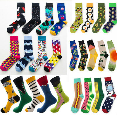 Men Women Food Animal Colorful Sock Funny Street Harajuku Divert Happy Socks Sox