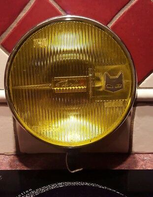 ancien phare marchal Starlux 780 iode. Jaune Alpine Renault.old headlight cover