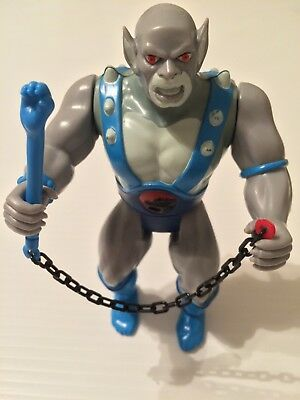 Vintage ThunderCats Panthro LJN 1985 Action Figure - NEAR Complete (See Details)