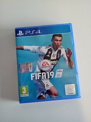 PS4 FIFA 19  Originale GIOCO PS4 PLAYSTATION
