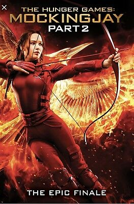 The Hunger Games Mockingjay Part 2 Digital Download Code From Bluray