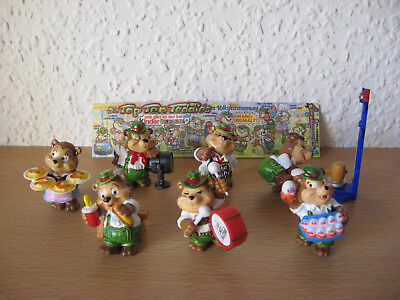 Top Ten Teddies und Top Ten Teddies Volksfeststimmung 7 Figuren + 1 BPZ