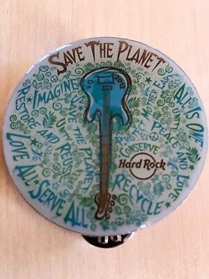 Hard Rock Cafe Online - Save the planet pin - LE