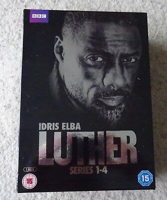 Luther Series 1 to 4 Box Set DVD