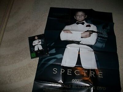 DVD James Bond 007 ° Spectre ° + Filmplakat