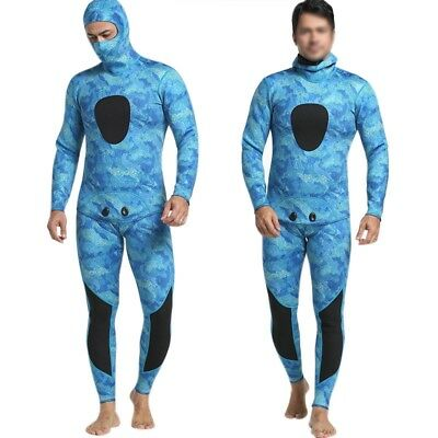 Diving suit neoprene 3mm men pesca diving spearfishing wetsuit surf snorkel A4I3
