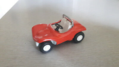 Tonka  - 55340 - Strand Buggy aus Blech orange - near mint - Dune Buggy TOP
