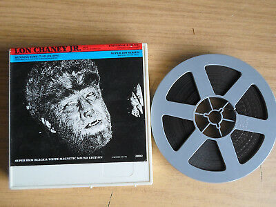 Super 8mm sound 1X200 THE WOLFMAN'S CURE. Universal horror classic.
