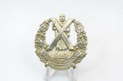 Cameron Highlanders of Ottawa - Cap Badge - Canada WW2
