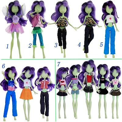 Handmade Outfits Blouses Pants Dress Clothes For Monster High Doll Accessories R