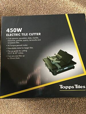450W Electric Tile Cutter, Brand New, Boxed.
