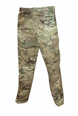 British Army MTP (Multi-Terrain Pattern) Windproof Trousers Excellent Immaculate