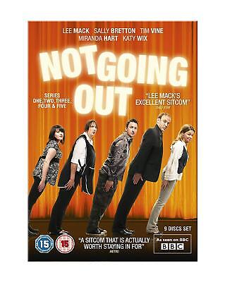Not Going Out - Series 1-5 - Complete (DVD, 2012, 5-Disc Set, Box Set) - New