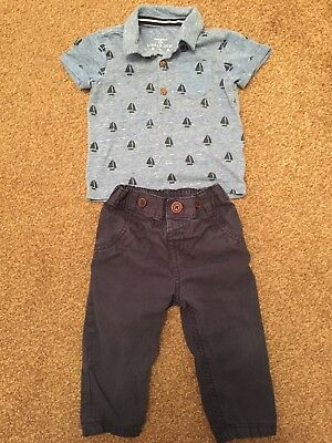 F&F baby boy clothes 9-12 months