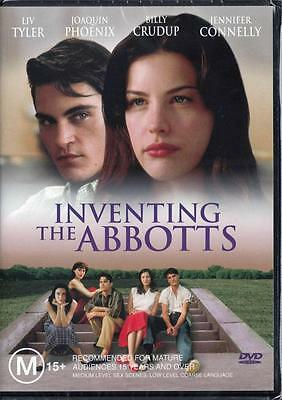 Inventing The Abbotts - Liv Tyler - New Region 4 Dvd -  Free Local Post