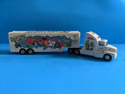 Cartoon Network Flintstones Wacky Racing Champions Die Cast Mini Truck 1997