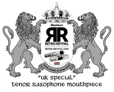 "Retro-Revival Replica Berg Duckbill Tenor Sax Piece ""uk Special"" 110/2 Blem"