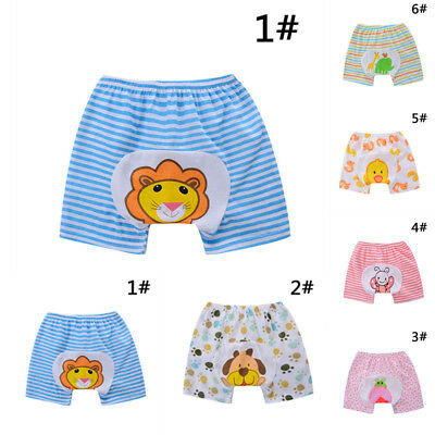 Summer Kids Girl Boy Baby Casual Soft Cartoon Printing Short Harem Pants Shorts