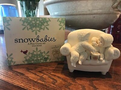 Department 56 Snowbabies-A Pint Cures All- NIB Retired