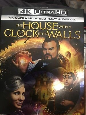 The House with a Clock in Its Walls (4K Ultra HD + Blu-ray + Digital) NEW+FREE S