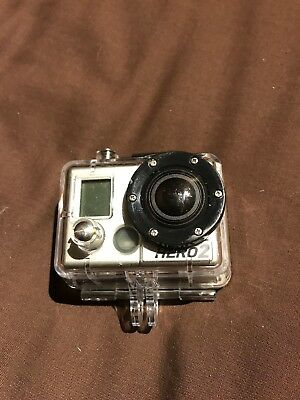 Gopro Hero 2. With Case & Sd Card