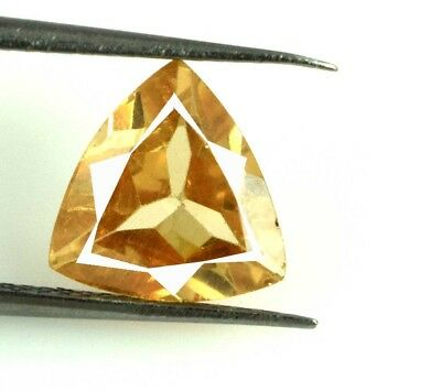 100% Natural Pakistan Brown Axinite Gemstone 4 Ct Trillion AGSL Certified E1625