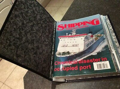 Shipping today and yesterday magazines in folder  no. 35-46 1993