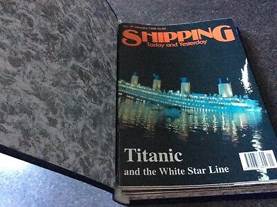 Shipping today and yesterday magazines in a folder no. 95 - 106 1998