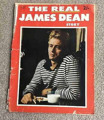 James Dean - The Real .... Original Magazine from 1956