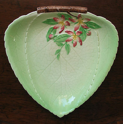 Vintage a lovely Carlton Ware Dish hand painted with the Apple Blossom Pattern