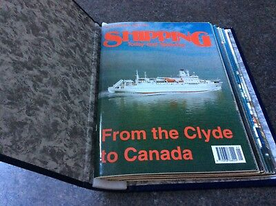 Shipping today and yesterday magazines in folder no. 59 - 70 1995