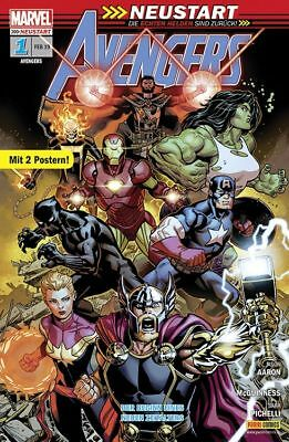 Avengers 1 mit Poster