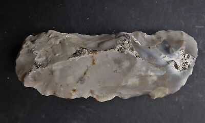 Mesolithic Flint Tranchet Axe From England