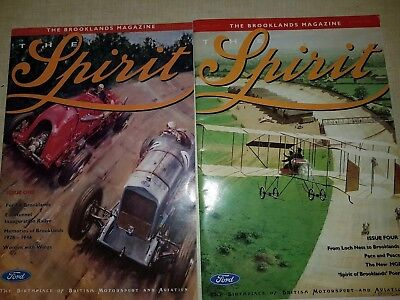 2 Magazines The Spirit Issue 1 And 4 1994 And 1995 Brooklands Museum