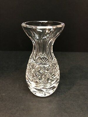 """Waterford Ireland Cut Crystal 5.25"""" Bud Vase Excellent Condition"""