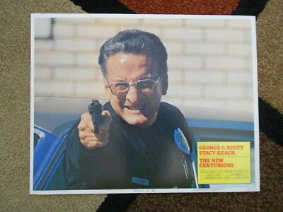THE NEW CENTURIONS Vintage Lobby Card 1972 Columbia George C. Scott #3 72/118