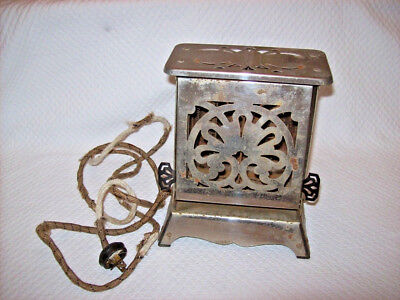 Vintage Hotpoint Electric Toaster Pat'd Apr1 1924 Edison Electric