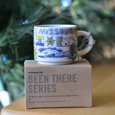 Missouri Starbucks Been There Series Ornament 2018 Mini Mug NEW