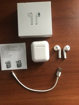 Afans AirPods for Apple iPhone w/ Charging Case