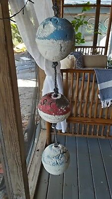 Florida Keys retired Spiny Lobster and Stone Crab Buoys *Nautical Décor* (#22)