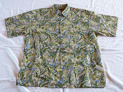 Tori Richard Honolulu Hawaiian shirt XL, made in Hawaii