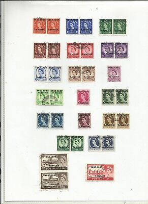 MORROCCO AGENCIES . TANGIER  .1957 . Used.