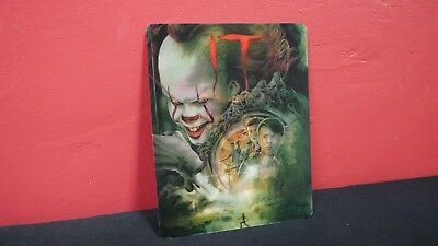 Stephen King IT (2017 Remake) 3D Lenticular Magnetic Cover for BLURAY STEELBOOK