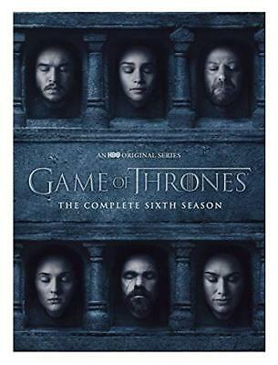 Game of Thrones: The Complete 6th Season (DVD, 2016, 5-Disc Set) IN ORIG WRAP