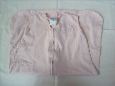 Halo Swaddle Sleepsack Sack Size Medium 6-12 months Pink Cotton