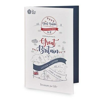 Brand New 2018 A-Z 10p Collector Album For 26 Alphabet Coins Great Britain
