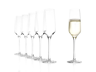 Experience Champagne Flute, Set of 6, Transparent